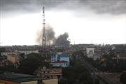 Cháy lớn tại công ty sản xuất nhôm
