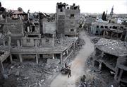 Israel không kích đáp trả loạt rốc-két mới từ Gaza