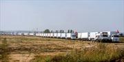 Ukraine đảm bảo an ninh cho đoàn xe cứu trợ