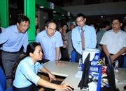 Đồng chí Nguyễn Thiện Nhân thăm Trung tâm hành chính công Quảng Ninh