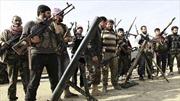 Hàng trăm phiến quân đầu hàng chính phủ Syria