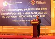 Hàn Quốc ưu đãi làm visa khách đoàn Việt Nam