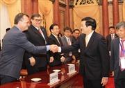 Chủ tịch nước tiếp các trưởng đoàn dự Hội nghị Bộ trưởng APEC