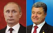 Tổng thống Nga và Ukraine nhất trí tiếp tục đối thoại