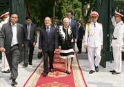 Chủ tịch Quốc hội Nguyễn Sinh Hùng hội đàm với Chủ tịch Hạ viện Australia