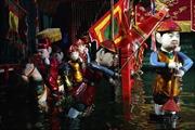 Múa rối nước Việt Nam xiêu lòng khán giả Nhật Bản