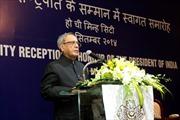 Tổng thống Ấn Độ kết thúc chuyến thăm Việt Nam