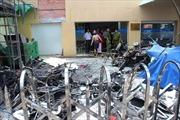 Cháy chi nhánh VietinBank, cây ATM trơ khung