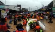 Bão lụt khiến hàng chục nghìn người sơ tán tại Manila