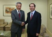 Bộ trưởng Bộ Công an Trần Đại Quang thăm chính thức Singapore