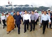 Thủ tướng Nguyễn Tấn Dũng làm việc với lãnh đạo Lào Cai