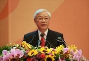 Tổng Bí thư Nguyễn Phú Trọng trả lời phỏng vấn hãng thông tấn Yonhap