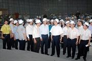 Thủ tướng kiểm tra tiến độ thi công Nhà Quốc hội