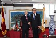 Tổng Bí thư Nguyễn Phú Trọng kết thúc tốt đẹp chuyến thăm Hàn Quốc