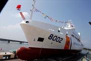 Hạ thủy tàu Cảnh sát biển đa năng 8002