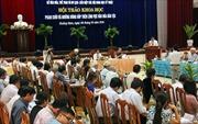Hội thảo khoa học về Phan Khôi với văn hóa dân tộc