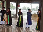 Phục dựng Nhà chứa Quan họ truyền thống kiểu cổ