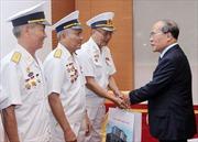 Chủ tịch Quốc hội tiếp cựu chiến binh Đoàn tàu không số