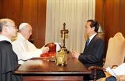 Thủ tướng Nguyễn Tấn Dũng hội kiến Giáo hoàng Francis