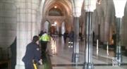 Video nổ súng trong tòa nhà Quốc hội Canada