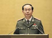Bộ trưởng Trần Đại Quang thăm Trung Quốc