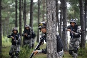 Trung Quốc tập trận bắn đạn thật ở Đông Bắc