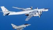 Anh triển khai chiến đấu cơ chặn máy bay Latvia