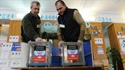 Donetsk và Lugansk tiến hành bầu cử