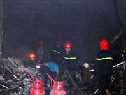 Cháy lớn tại công ty dệt