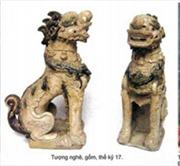 Giới thiệu hiện vật về nghê, sư tử trong điêu khắc cổ