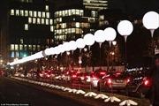 Đức tái hiện 'Bức tường Berlin' bằng ánh sáng