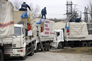 Đoàn xe viện trợ nhân đạo thứ 7 của Nga đến miền Đông Ukraine