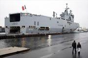 Hoãn chuyển giao tàu Mistral, 2.500 công nhân Pháp mất việc
