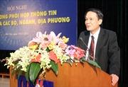 Tăng cường phối hợp thông tin giữa TTXVN với các Bộ, ngành, địa phương