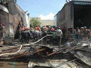 Cháy sát trụ sở Công an phường Cái Khế, Cần Thơ