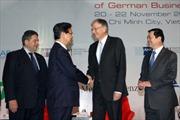 Thủ tướng Nguyễn Tấn Dũng tiếp Phó Thủ tướng Đức