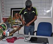 Tạm giam 'siêu trộm' đột nhập trụ sở UBND Tam Kỳ