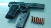 Quảng Ninh: Bắt quả tang đối tượng tàng trữ vũ khí quân dụng
