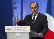 Tổng thống Pháp đến vùng ổ dịch Ebola