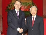 Tổng Bí thư Nguyễn Phú Trọng tiếp Chủ tịch Đuma Quốc gia Nga