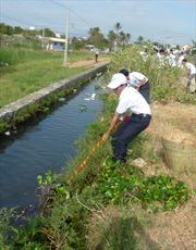Cần xử lý dứt điểm ô nhiễm nước ngòi Lao, Phú Thọ