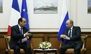 Nga, Pháp thảo luận khủng hoảng Ukraine