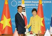 Thủ tướng Nguyễn Tấn Dũng hội đàm với Tổng thống Park Geun Hye