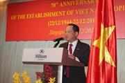 Kỷ niệm ngày thành lập QĐND Việt Nam tại Singapore