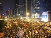 'Chiếm Trung tâm' ở Hong Kong đêm trước 'giờ G'
