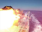 Hải quân Mỹ khoe súng laser mới đáng gờm trên Vịnh Ba Tư