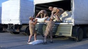 Đoàn xe viện trợ thứ 9 của Nga tới Donetsk