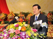 Chủ tịch nước dự Lễ kỷ niệm Ngày Truyền thống Tổng cục Chính trị QĐND Việt Nam