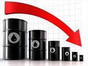 Giá dầu thô xuống mức thấp kỷ lục mới