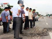 Quốc lộ vừa hoàn thành đã xuống cấp nghiêm trọng